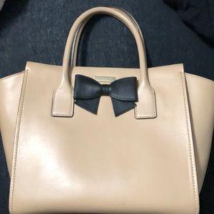 Kate spade tan and black bag